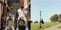 Sehun khoe hình tạo dáng giống Tao, BoA hào hứng khoe album mới