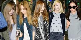 SNSD mệt mỏi quay về Hàn sau buổi họp fan tại Thâm Quyến