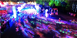 Đêm  chạy bộ cùng ánh sáng  lần đầu tiên đến Việt Nam