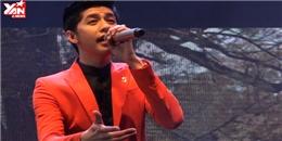 Noo Phước Thịnh lần đầu hát live hit mới