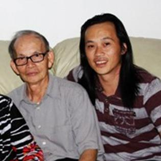 Hoài Linh và Dương Triệu Vũ  nổi đóa  với thông tin  anh em cùng cha khác mẹ