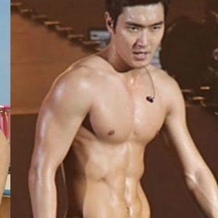 Kinh ngạc khi mỹ nam Hàn thay đổi hình thể