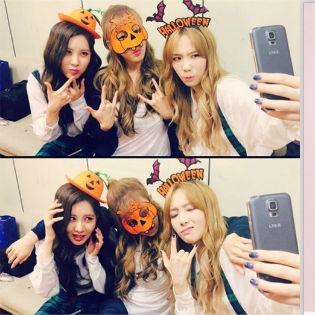 TaeTiSeo chuẩn bị đón Halloween, Suzy diện trang phục độc đáo