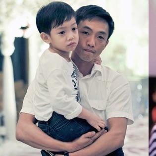 Bố con Quốc Cường ủng hộ Hồ Ngọc Hà mặc áo cưới