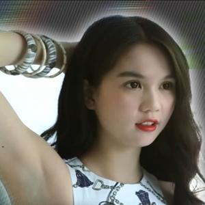 Ngọc Trinh xuất hiện trong bản tin của truyền hình Hàn Quốc