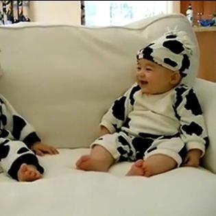 Ngắm các em bé cực yêu trong trang phục hóa trang Halloween!