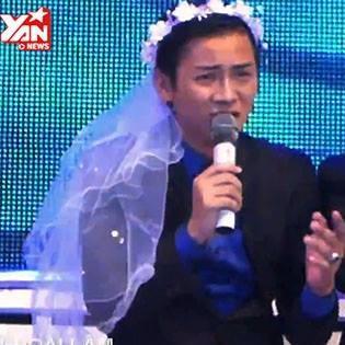 Hoài Lâm mặc váy hoa hát  Thiên đường gọi tên  cùng MiA