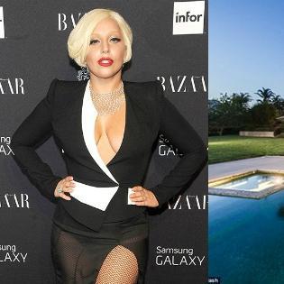 Tham quan biệt thự trị giá 24 triệu USD của Lady Gaga