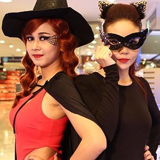 Chọn phong cách hóa trang ấn tượng cho đêm Halloween