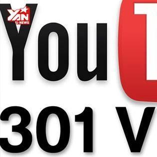 Tại sao lượt xem Youtube luôn dừng ở 301?
