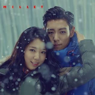T.O.P và Park Shin Hye ngọt ngào giữ ấm cho nhau
