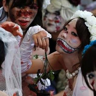 Giật mình với lễ hội Halloween tại Nhật Bản