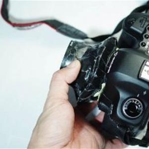 Hình siêu ảo diệu từ máy ảnh vỡ nát ống kính