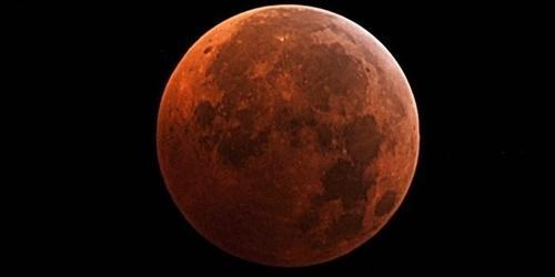 Đừng bỏ lỡ hiện tượng thiên văn  Mặt trăng máu  sẽ diễn ra chiều nay