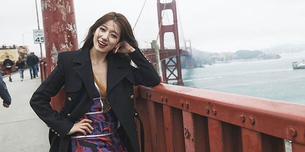 Ngắm Park Shin Hye đẹp rạng ngời tại San Francisco