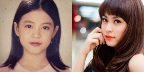 Ảnh thơ ấu - bây giờ khác xa nhau của hot girl Việt