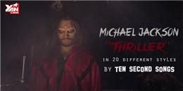 Giả giọng 20 nghệ sỹ nổi tiếng cover  Thriller  của Michael Jackson