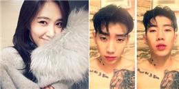 Yuri khoe hình tự sướng cực xinh, Jay Park lạ lẫm với mái tóc bổ luống
