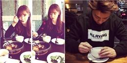 Tiffanay hẹn hò ăn uống cùng Yoona, Donghae tận hưởng cafe cuối tuần
