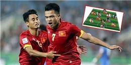 Đội hình xuất sắc nhất vòng bảng AFF Cup 2014