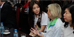 Ha Ji Won đến thăm bệnh viện Việt Nam Cu Ba