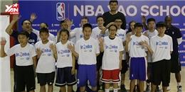 Đội tuyển Jr. NBA Việt Nam gặp gỡ huyền thoại bóng rổ Yao Ming