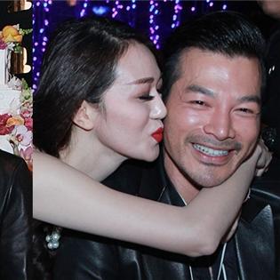 """Khánh My liên tục """"cưỡng hôn"""" Trần Bảo Sơn trong tiệc sinh nhật"""