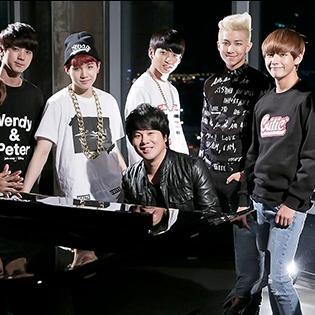 Thanh Bùi đọ giọng cùng nhóm nhạc Hàn Quốc trong MV Danger