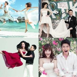 Ngắm những bộ ảnh cưới đẹp và độc đáo như mơ của sao Hoa ngữ