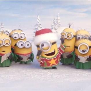 Các chú Minions tung hit Giáng sinh mới  cực nhắng