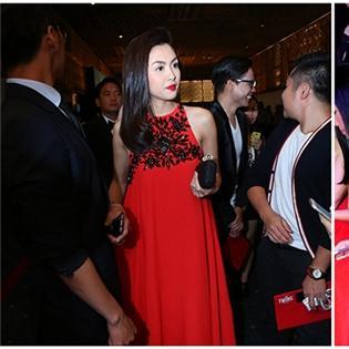 Tăng Thanh Hà mặc váy rộng giữa nghi án mang bầu 4 tháng