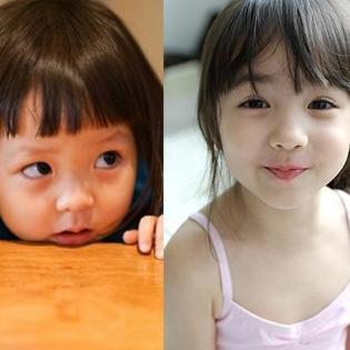Những  thiên thần  con lai đáng yêu nhất Hàn Quốc