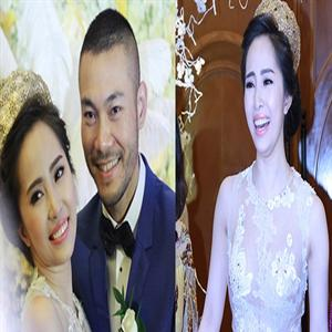Quỳnh Nga diện váy cưới xuyên thấu trị giá 6000 USD
