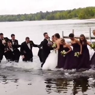 Những tai nạn hài hước nhất khi đi đám cưới