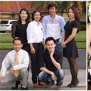 Ảnh hiếm về  đại gia đình  của sao Việt