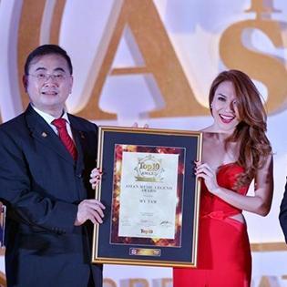 Mỹ Tâm được vinh danh  Huyền thoại Âm nhạc châu Á
