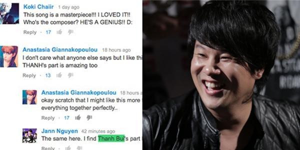 Fan Kpop quốc tế hết lời khen ngợi Thanh Bùi