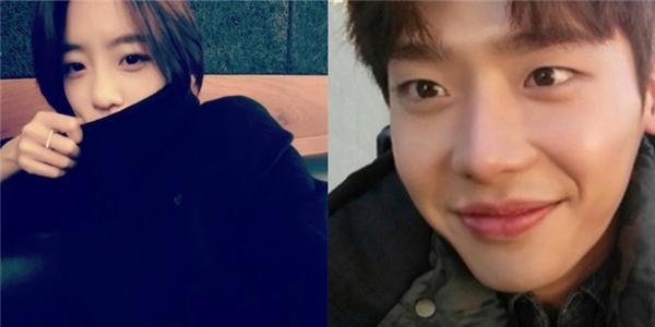 Eunjung tạo dáng giữa trời lạnh, Lee Jong Suk khoe hình cực ngố