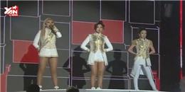 Thiếu Park Bom, 2NE1 vẫn đủ sức  quẫy  tung sân khấu cuối năm