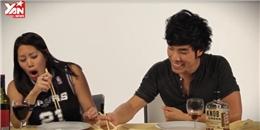 Biểu cảm hài hước của người Tây khi thưởng thức đặc sản Châu Á