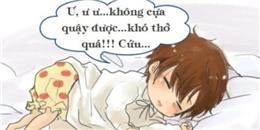 Hiểu thêm về hiện tượng 'bóng đè' khi ngủ
