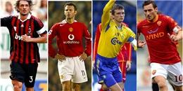 """Top 10 cầu thủ """"chung tình"""" nhất với một câu lạc bộ"""