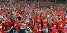Việt Nam - Malaysia: Thắng trên sân cỏ, đẹp nơi khán đài
