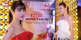 Thanh Hằng, Diệp Lâm Anh vai trần 'đốt cháy' thảm đỏ