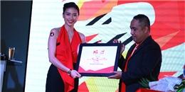Ngô Thanh Vân tươi rói lãnh giải nghệ sỹ Tinh Hoa