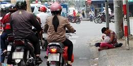 Cảnh trẻ em, người già bị chăn dắt ăn xin khắp Sài Gòn