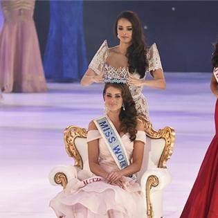 Khó rời mắt với vẻ đẹp của tân Hoa hậu thế giới 2014