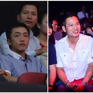 Biểu cảm của các ông chồng sao Việt khi ngắm vợ trên sân khấu