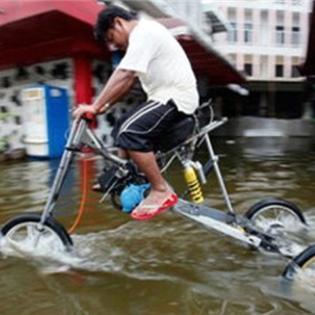 Những kiểu xe chống lụt chỉ có ở Thái Lan