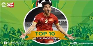 Công Vinh dẫn đầu 10 bàn thắng đẹp nhất vòng bảng AFF Cup